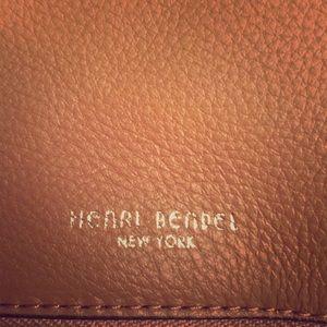 Henri Bendel leather messenger crossbody